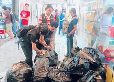 KPDNKK, PDRM dan Imigresen Serbu Plaza Low Yat
