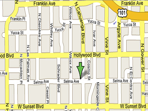 Map of Hollywood City Tourist Maps Map of Hollywood Pictures – Hollywood Tourist Map