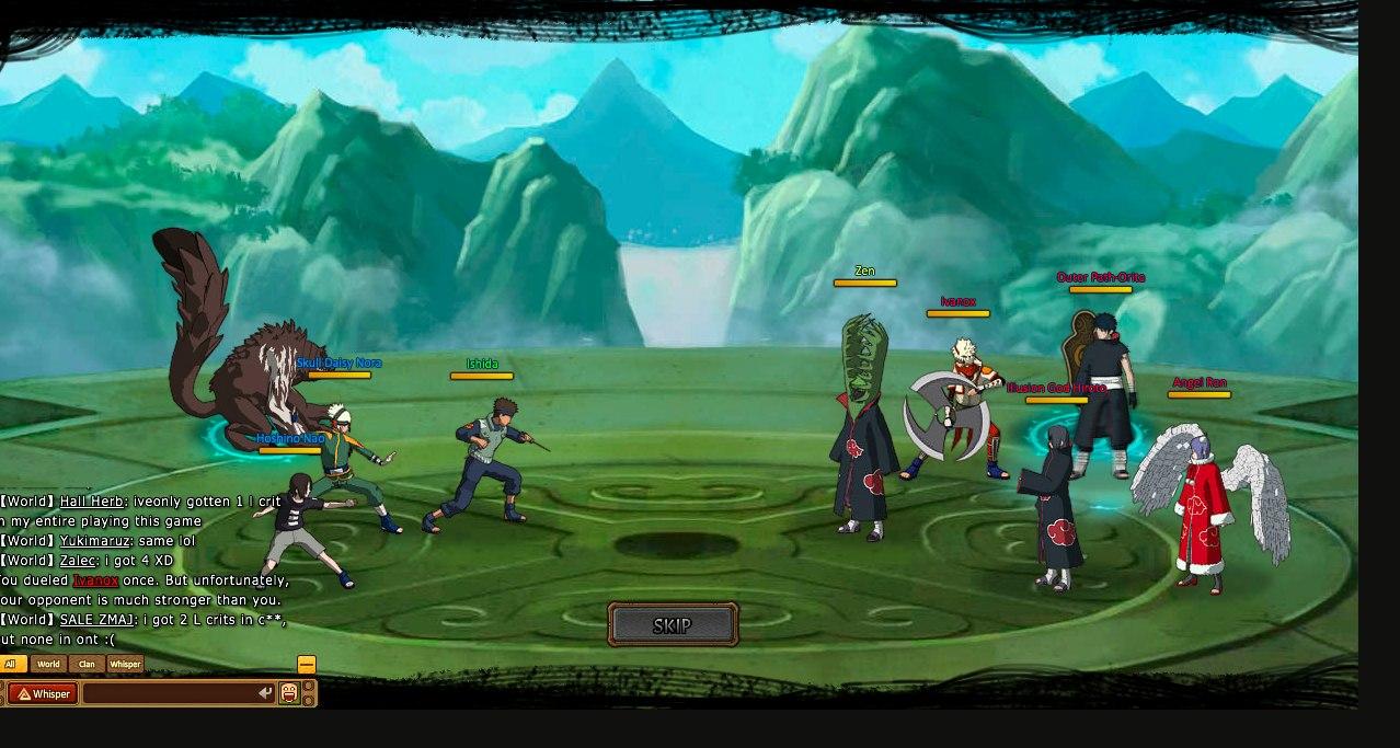 Как сделать персонажей для ninja world