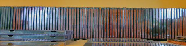Les 85 premiers CD de Michael Brückner publiés en 2006 / photo S. Mazars