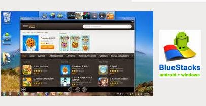 bluestack aplikasi android untuk PC windows 7, 8 dan Mac