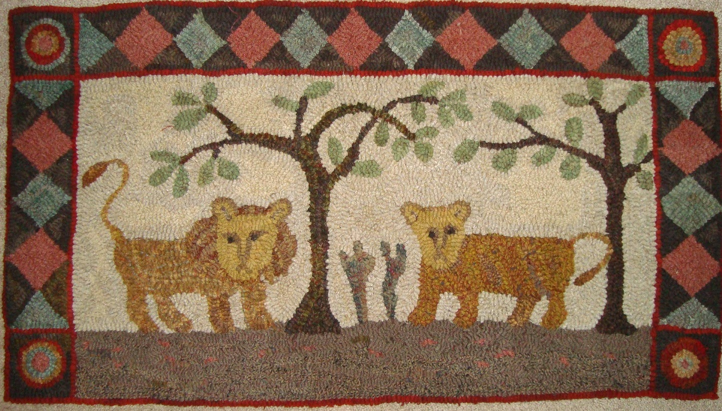 Here Is One Of The Two Rugs From Which I Picked The Elements. The Other Was  A Picture In A Book And Donu0027t Have A Pic Of It On My Computer.
