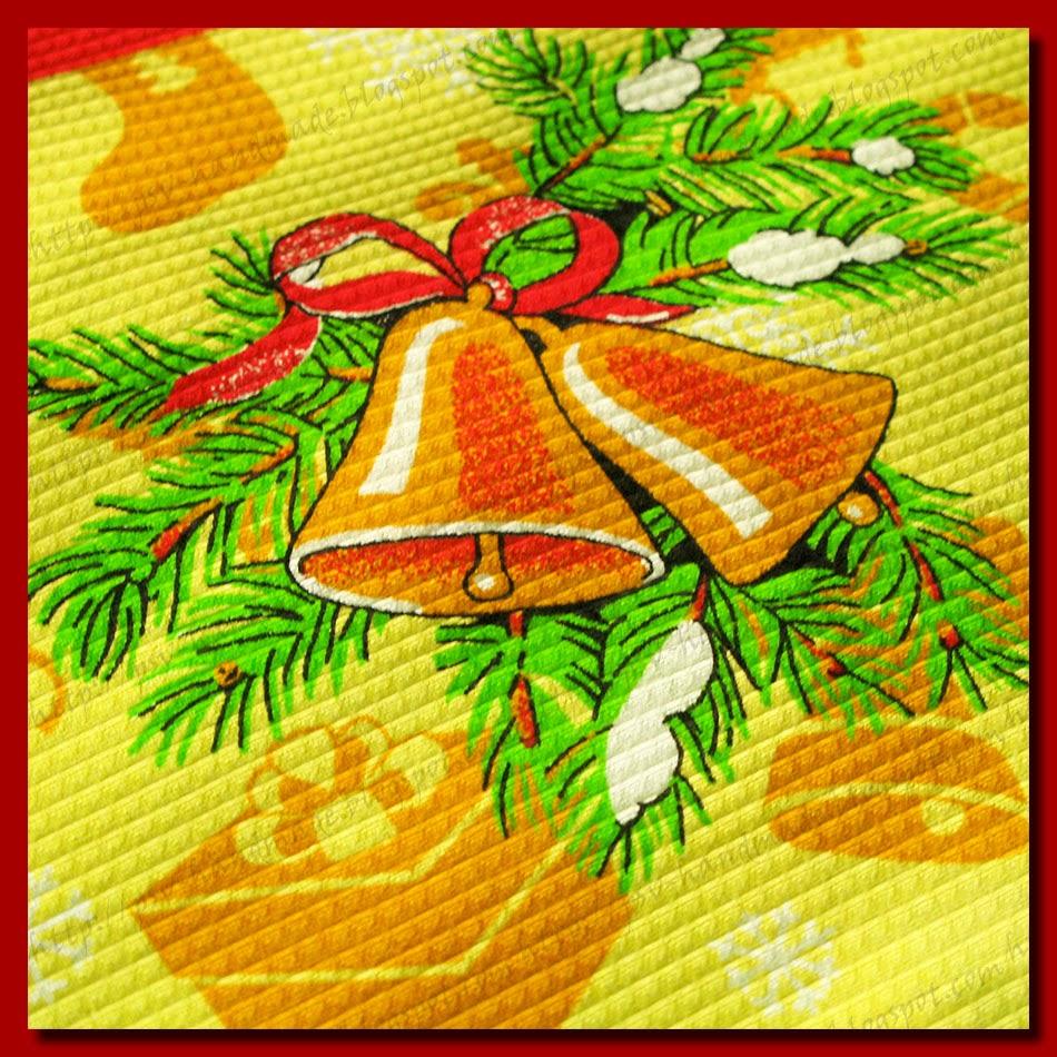 Полотенца ручной работы новогодней тематики.