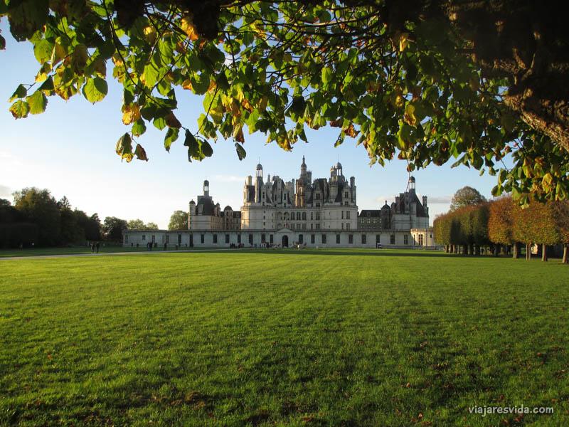 Viajaresvida - Vistas al Château de Chambord