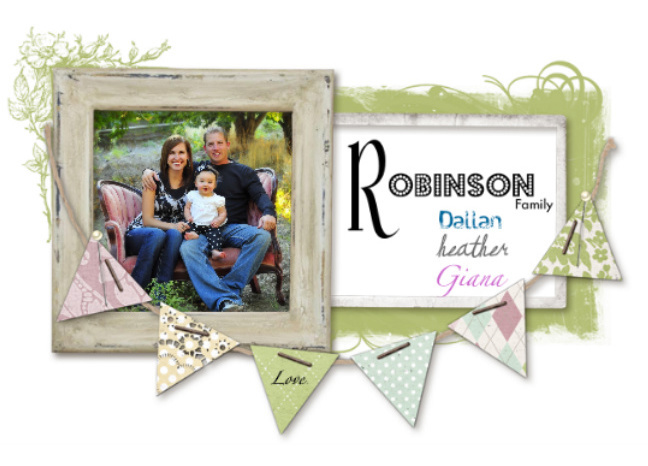 The Robinson's: Dallan, Heather, Giana