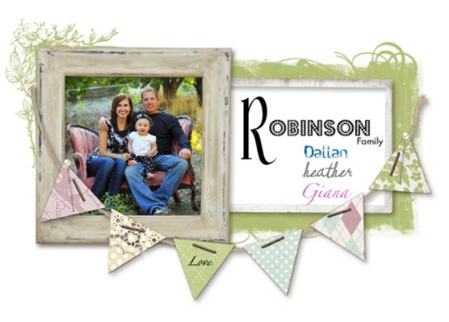 The Robinson's: Dallan, Heather, Giana
