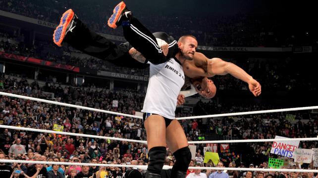 Brock Lesnar 2012 Attire
