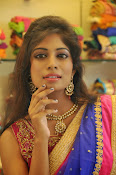 Mounika Reddy Glam pics in Half saree-thumbnail-3