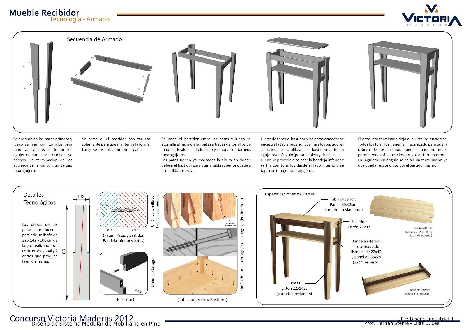 diseño industrial UP industrial design]: CONCURSO VICTORIA UP | MENCION