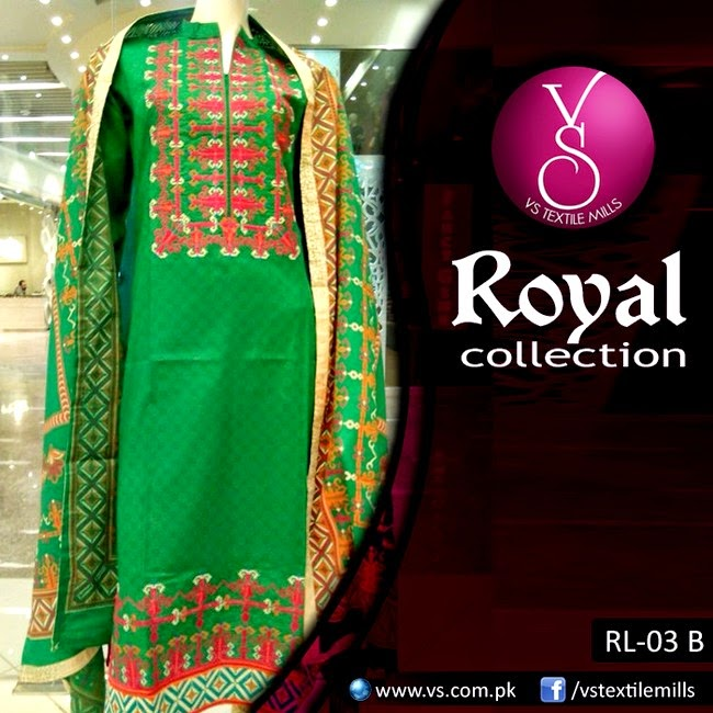 Royal Mid-Summer Collection 2014 launched by VS Textiles