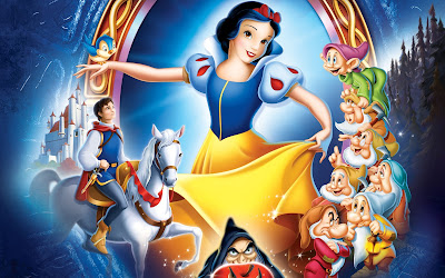 Disney Animated fantasy movie Snow White and then Seven Dwarfs