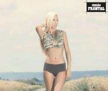 Dominika Kissova Frontal Mag Setembro 2013