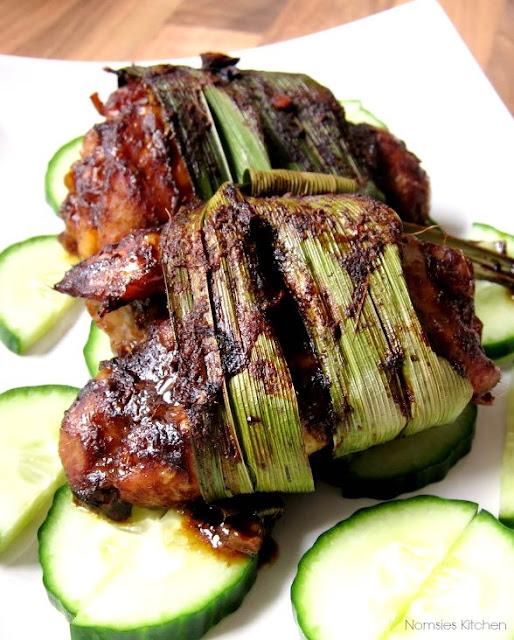 Roast Thai Pandan Chicken Recipe from Nomsies Kitchen