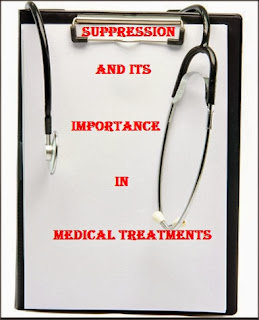 Suppression and its importance in medical treatments