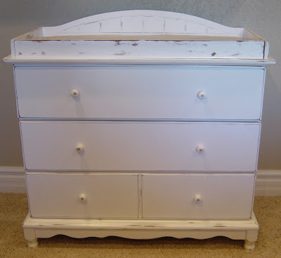Shabby Chic Changing Table (SOLD)