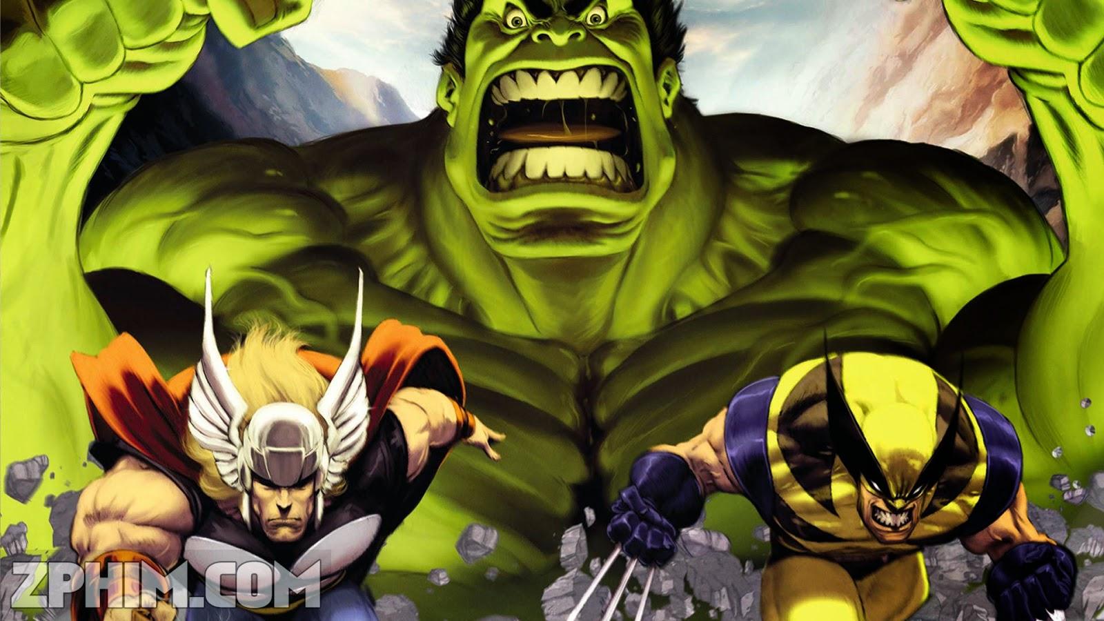 Ảnh trong phim Dị Nhân Đối Đầu - Hulk Vs. 1