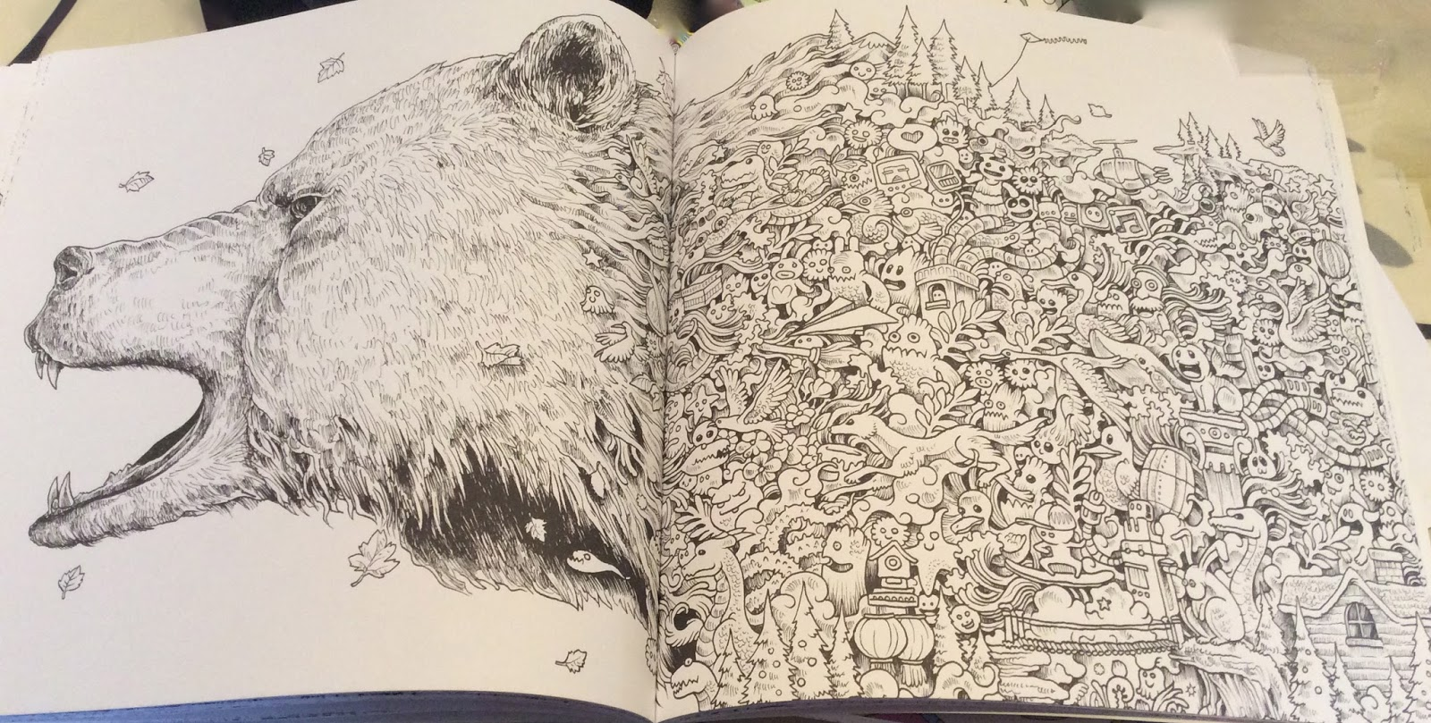 Animorphia Adult Colouring Book By Kerby Rosanes