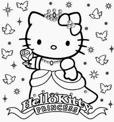 Princesse coloriage en ligne liberate - Hello kitty jeux coloriage ...