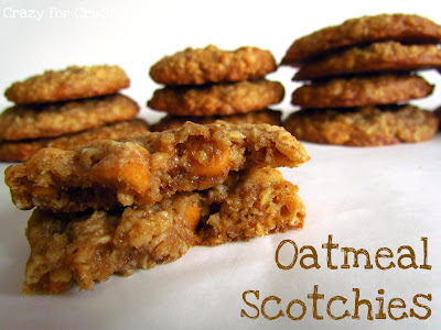 Recipe: Oatmeal scotchies