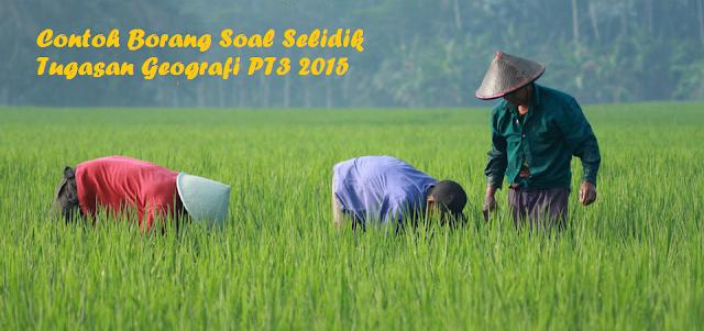 Borang Soal Selidik Tugasan Geografi PT3 2015
