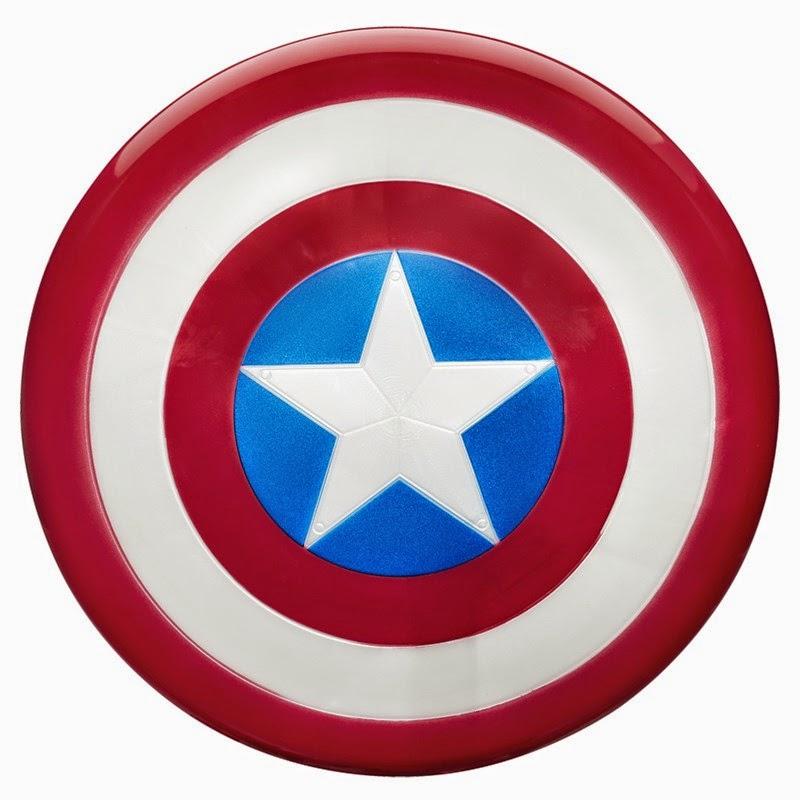 Escudo Voador The Avengers Capitão América da Hasbro