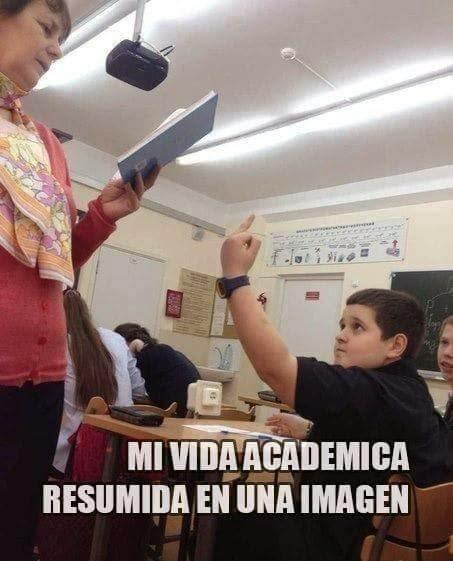 Mi vida académica