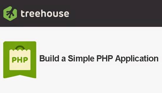 TeamTreeHouse – Build a Simple PHP Application