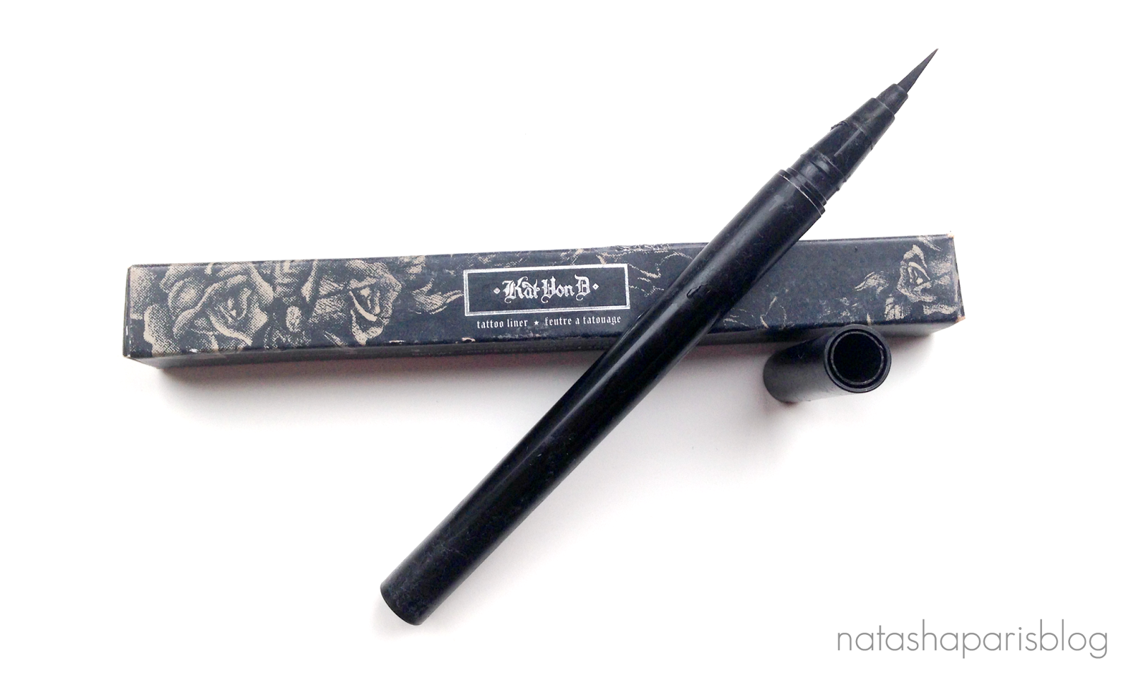 Review Kat Von D Tattoo Liner Trooper Natashaparisblog