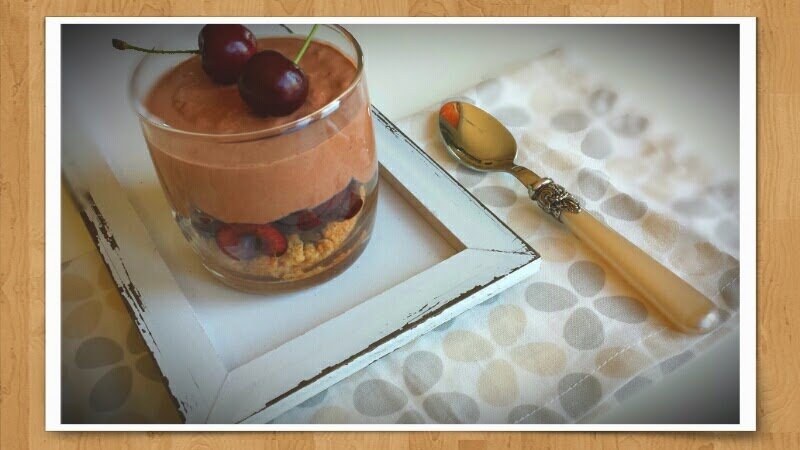 Kirsch-Schokoladen-Trifle