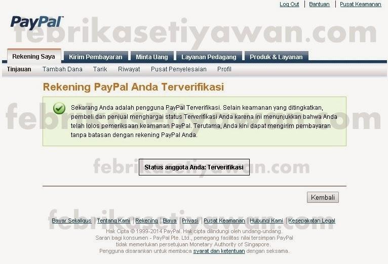 CARA VERIFIKASI PAYPAL DENGAN KARTU DEBIT BNI 100% BERHASIL, AMAN DAN LEGAL