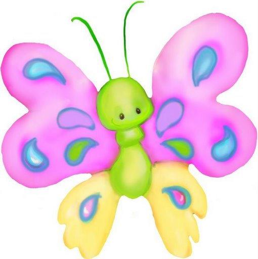 Mariposas de colores para imprimir - Imagenes y dibujos para imprimir ...