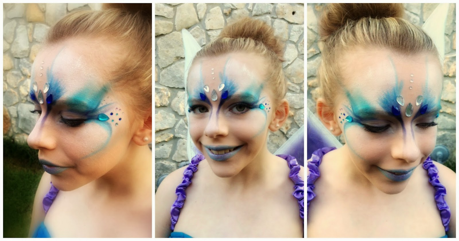 Beauty by nikki water fairy makeup tutorial halloween costume this is lagans first tutorial up on youtube she helped film edit and did all of the voice over i am so proud of her she even came up with the entire baditri Image collections