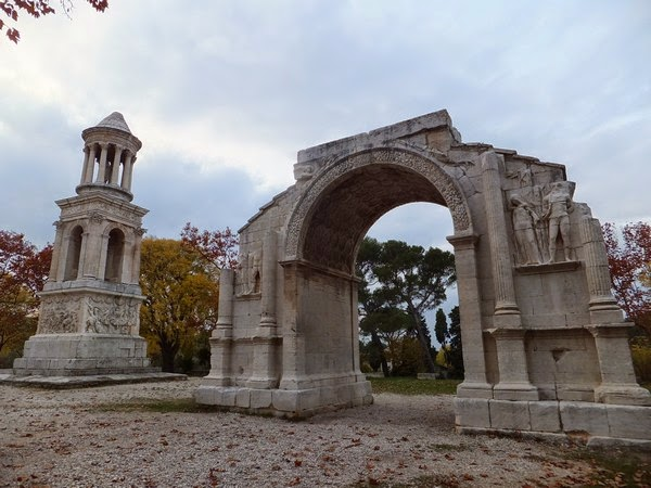 France Provence saint-rémy-de-provence glanum