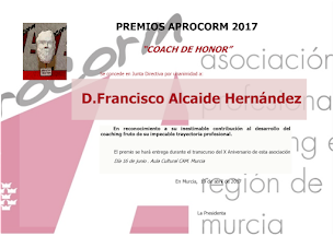 Premio Coach de Honor 2017
