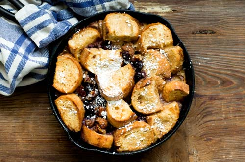 Cardamom French Toast With Grilled Peaches And Mascarpone (Green ...
