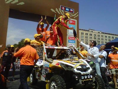 Dakar Rally - Can-Am Commander 1000