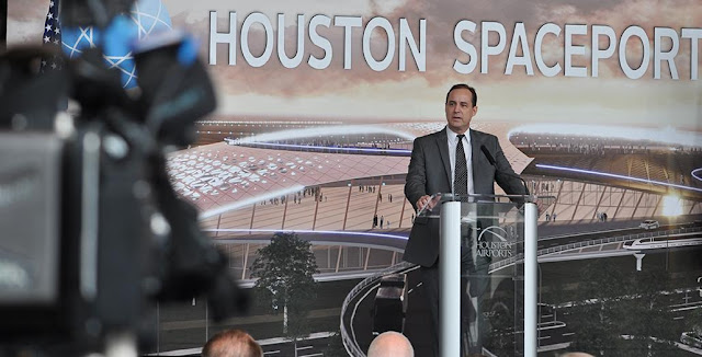 Steve Altemus, CEO of Intuitive Machines, a future tenant of the Houston Spaceport. Credit: fly2houston.com