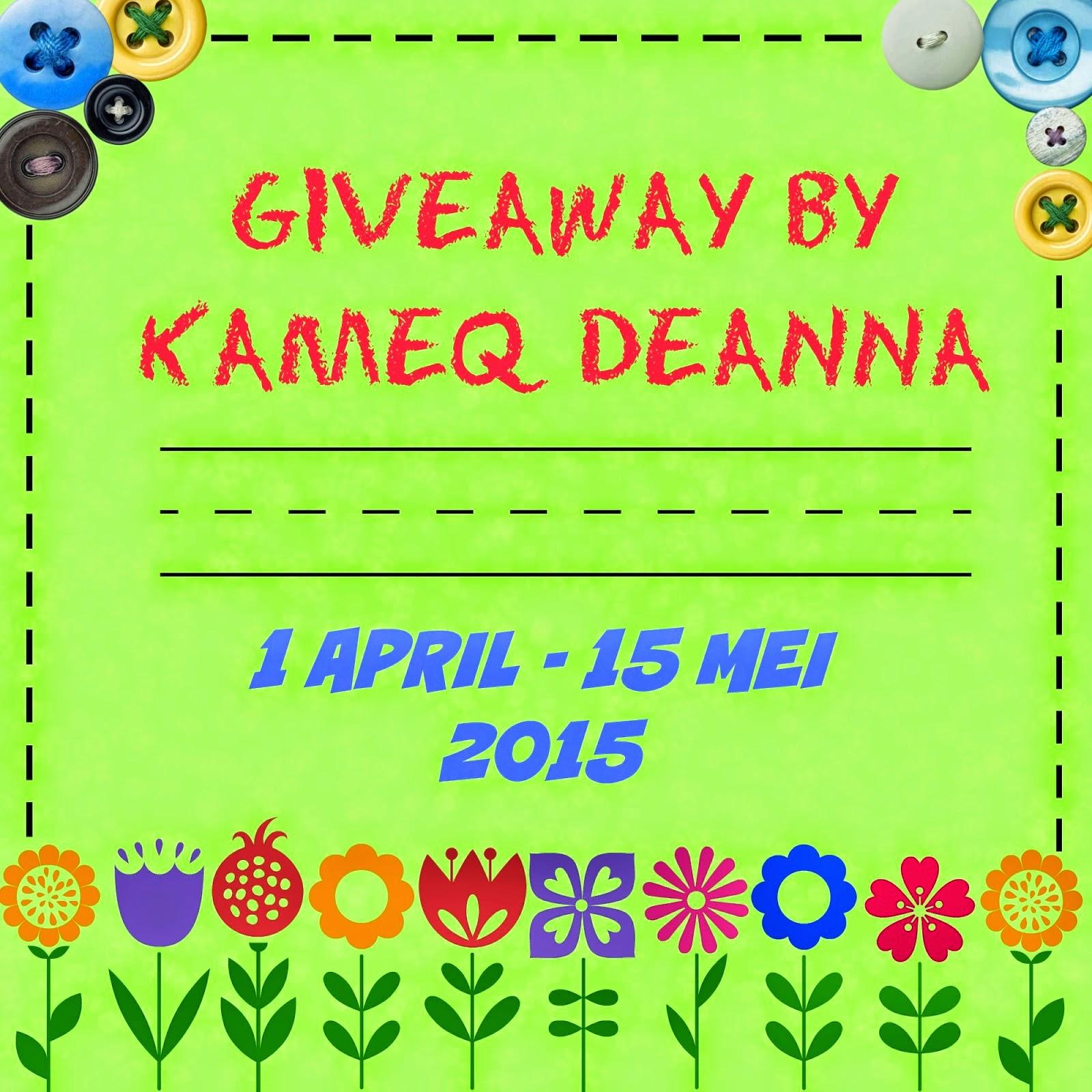 http://kameqdeanna.blogspot.com/2015/04/giveaway-by-kameq-deanna.html