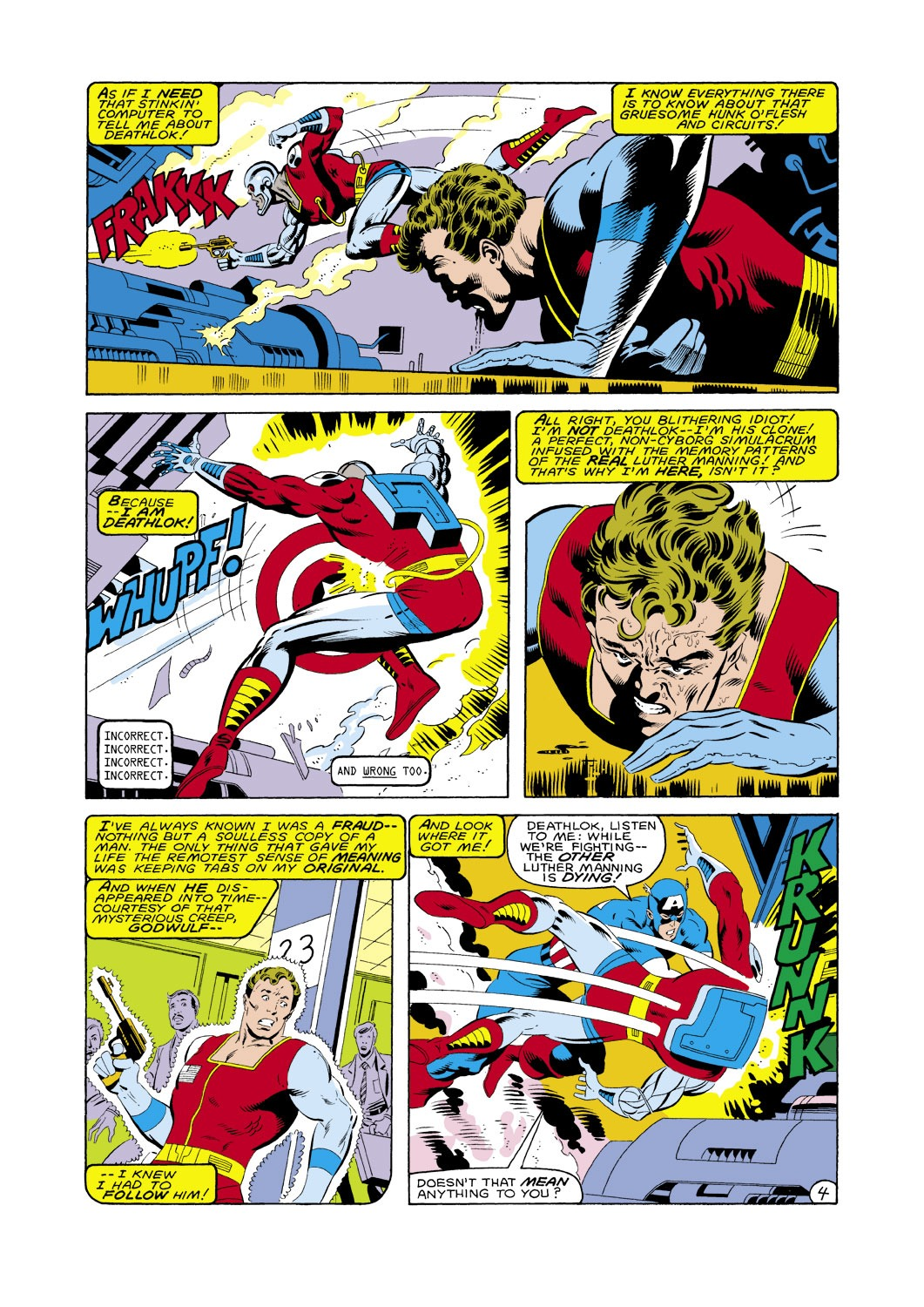 Captain America (1968) Issue #287 #203 - English 5