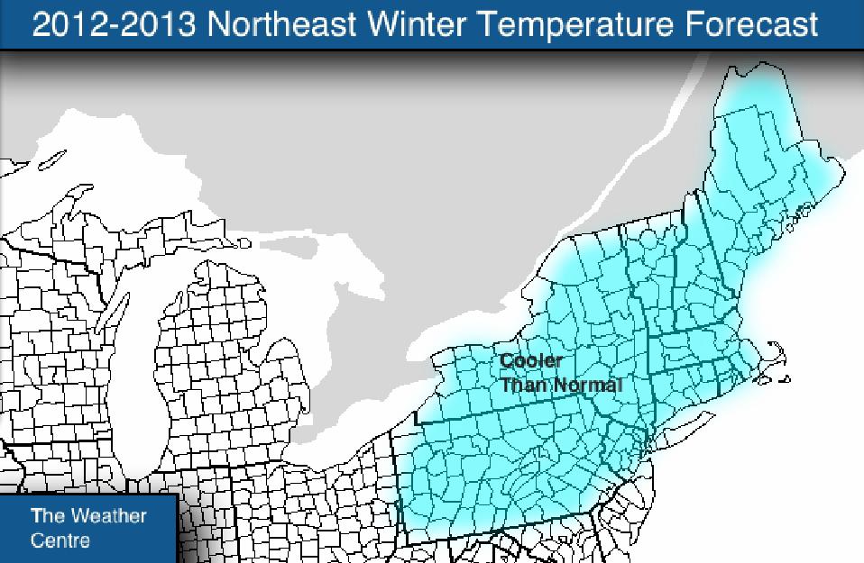 Northeast Winter Predictions 2015