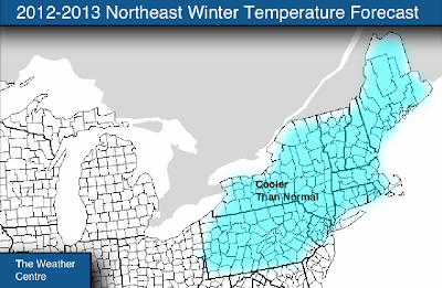The Weather Centre: Official 2012-2013 Winter Forecast: Northeast