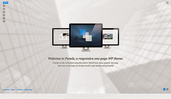 panels-one-page-wp-theme