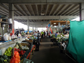 Inside Canino Produce Market- the farmer's booths section