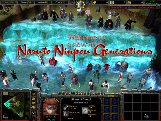 Download Map Naruto World 5 0. Map Naruto Ninpou Generations 0 6a by NNG ElbesH  Choose your hero from world of and make strategies to destroy enemies 5c