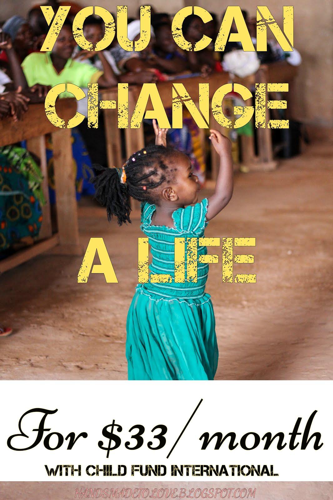 Change a life!