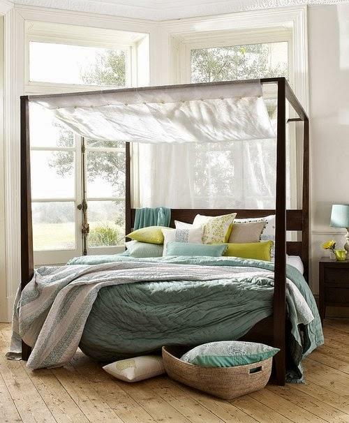 contoh desain kamar tidur modern yang cantik desain
