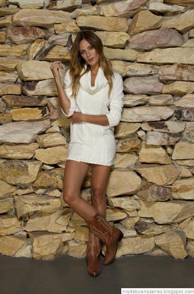 Vov Jeans Moda otoño invierno 2012. Vestidos invierno 2012.