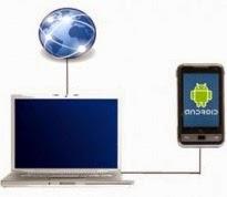 Cara Setting / Atur Smartphone Android Jadi Modem Tanpa Tethering
