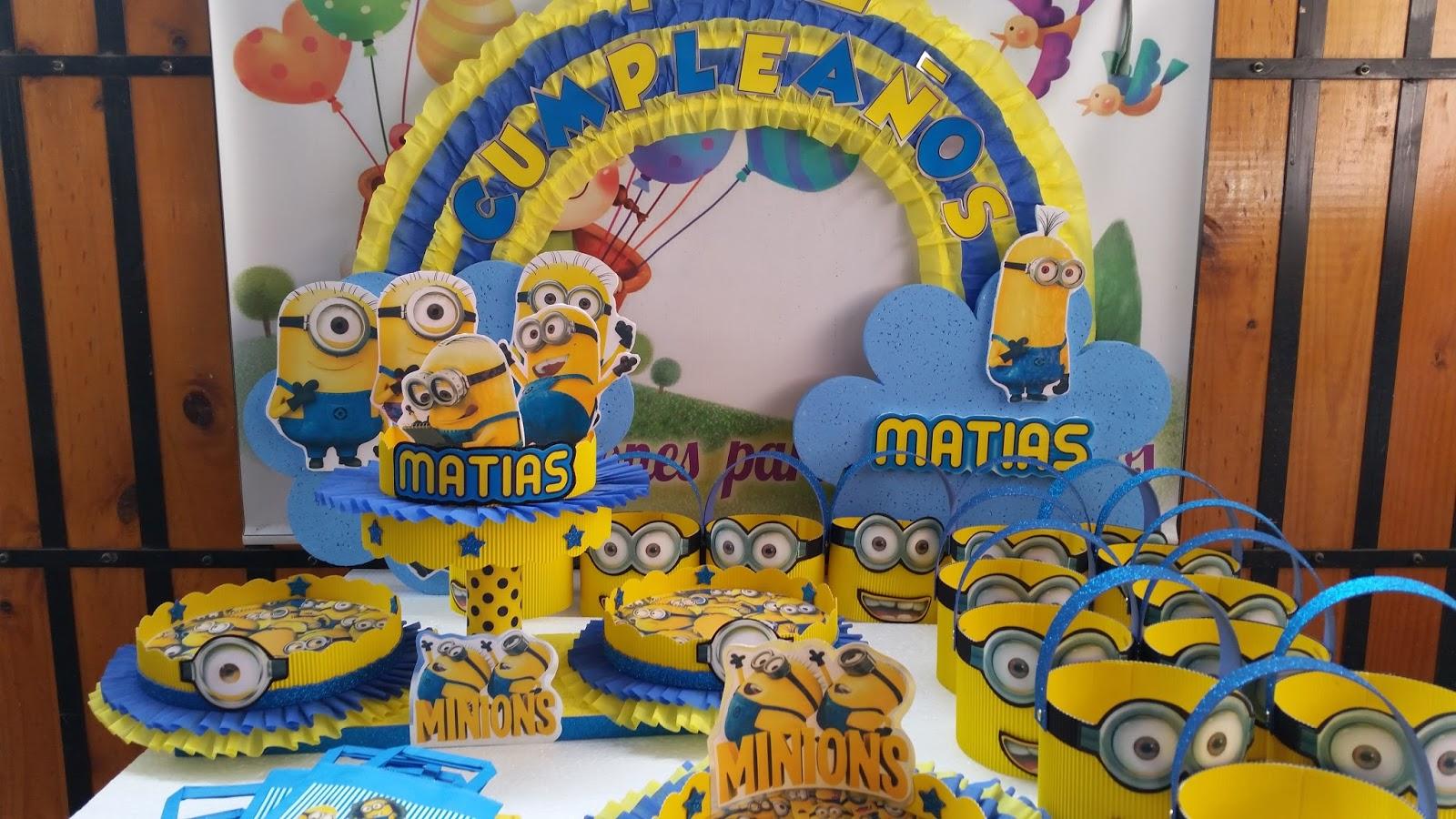 Decoracion Minions Para Fiestas Infantiles ~ lunes, 20 de julio de 2015
