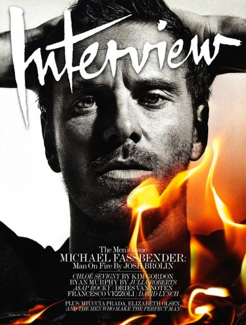 MICHAEL FASSBENDER gets done interviewed by Josh Brolin and burns up the